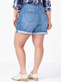 d/c JEANS Curvy Fit Denim Short