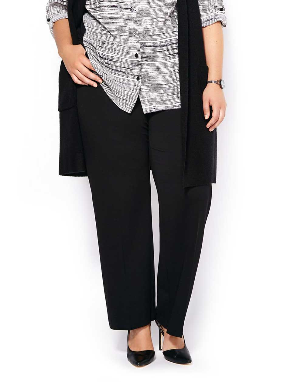 ONLINE ONLY - Tall Savvy Ponte de Roma Wide Leg Pant