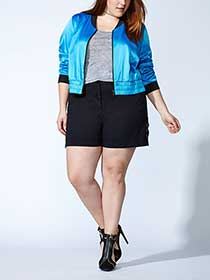 Tess Holliday - Long Sleeve Bomber Jacket