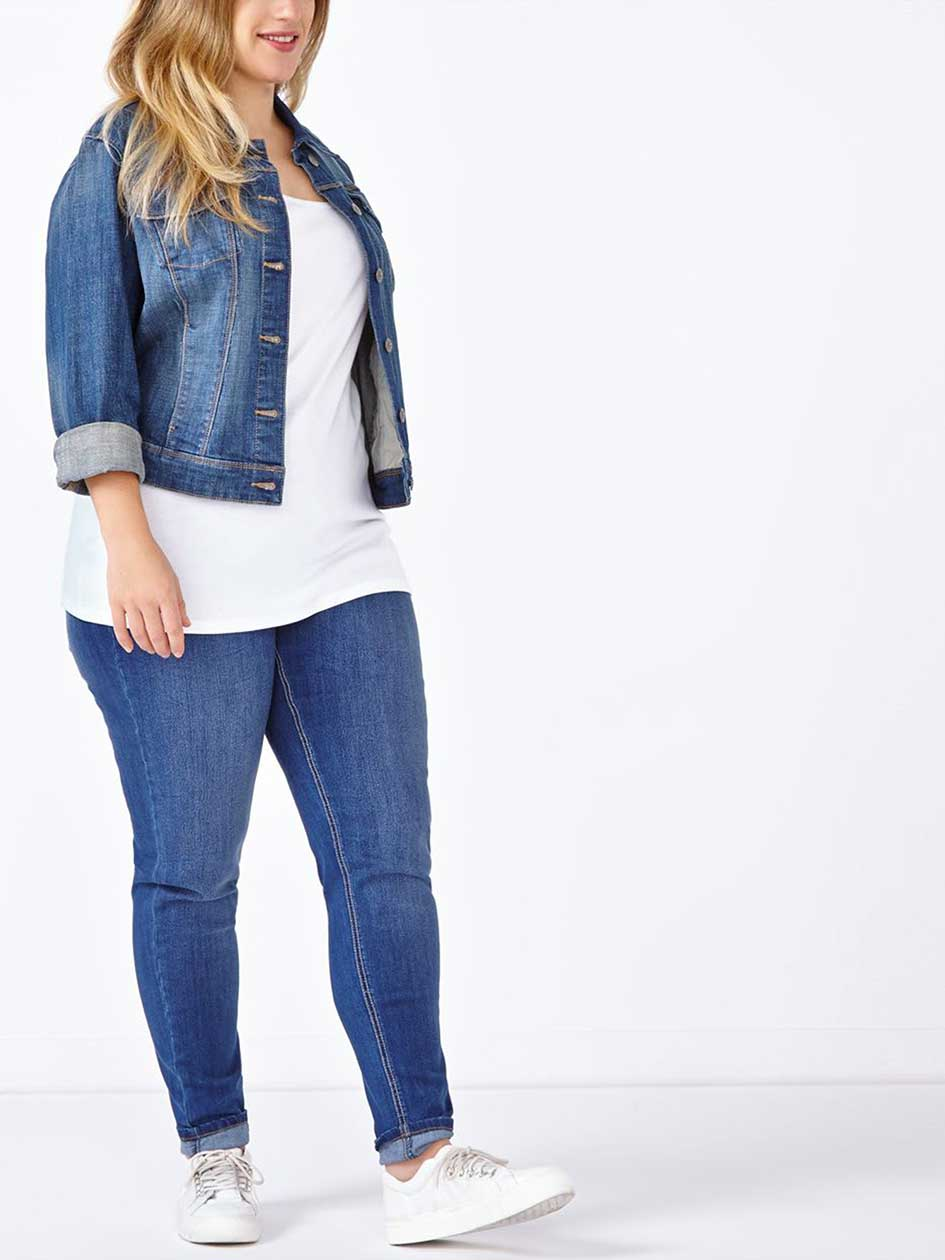 d/c JEANS Slightly Curvy Fit Skinny Jean