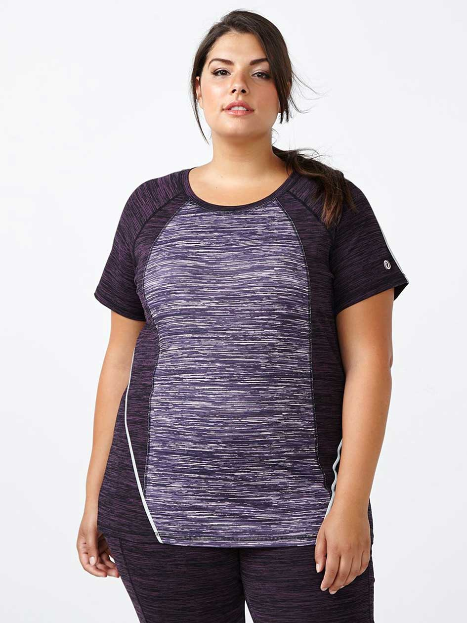 Essentials Tech - Plus-Size Printed T-Shirt