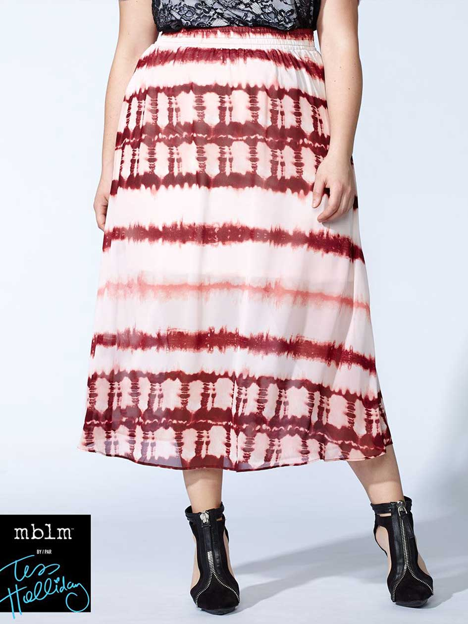Tess Holliday - Tie Dye Maxi Skirt