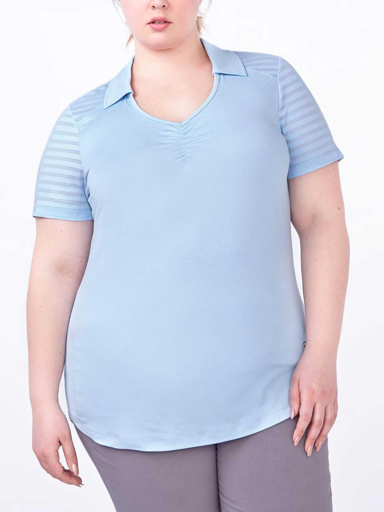 sports plus size golf polo shirt penningtons