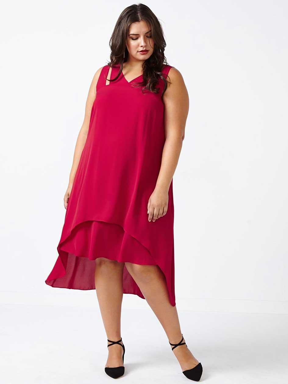 Long Layered Dress
