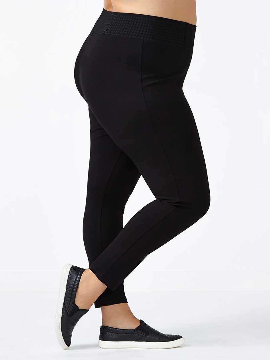 Textured Waist Legging