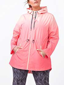 Essentials - Plus-Size Hooded Jacket