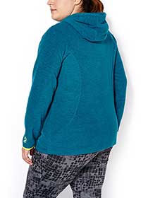 Sports - Plus-Size Hooded Jacket