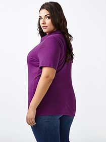 Curve Fit Polo T-Shirt