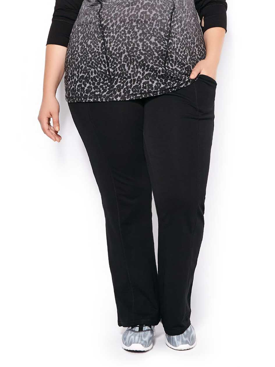 Essentials - Plus-Size Basic Relaxed Pant
