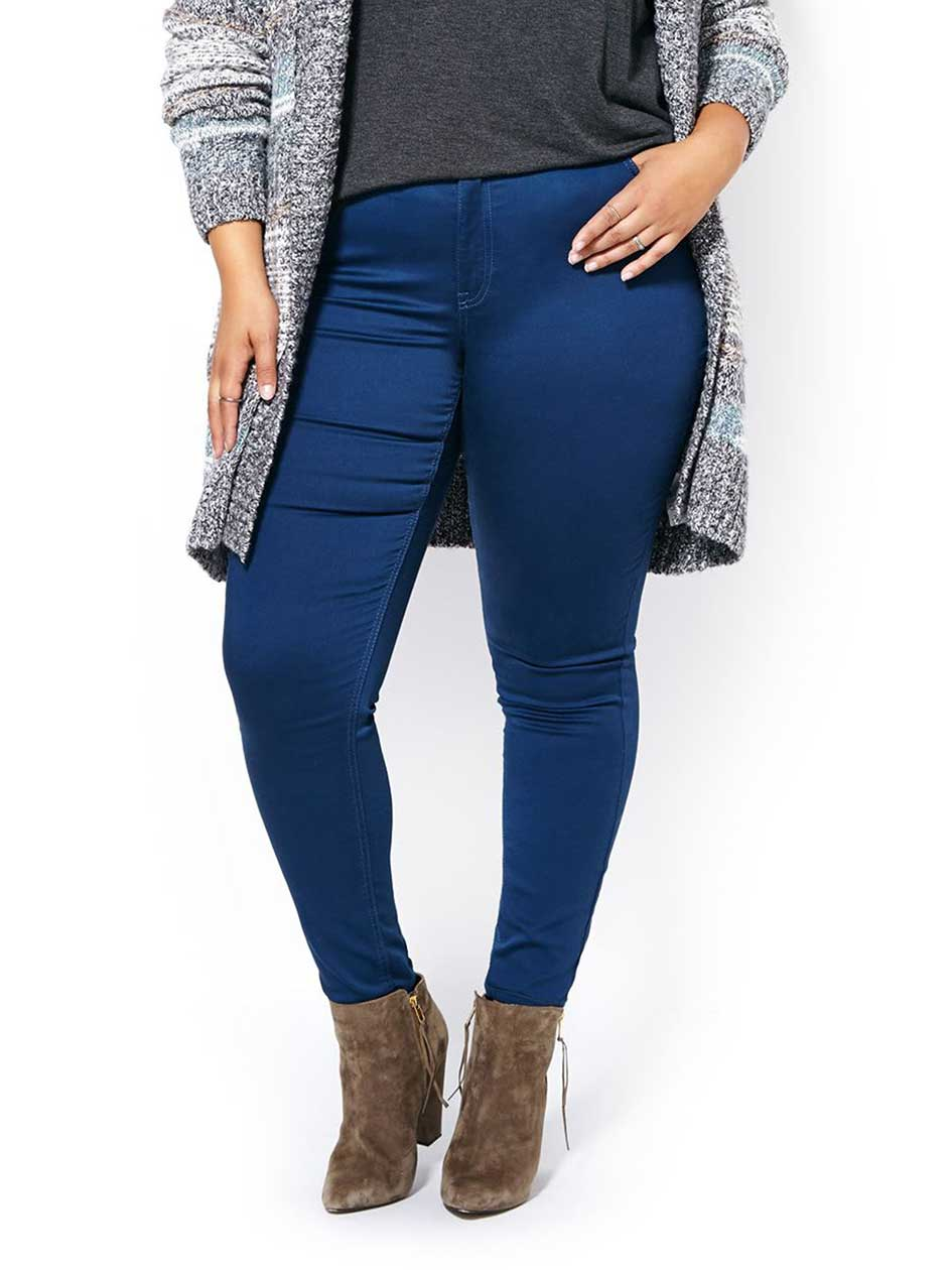 d/c JEANS - Jean legging de couleur superextensible