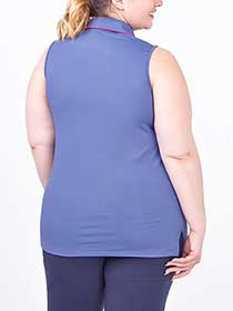Sports - Sleeveless Plus Size Golf Top