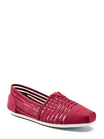 BOBS From Skechers - Wide-Width Slip On Shoes with Mesh