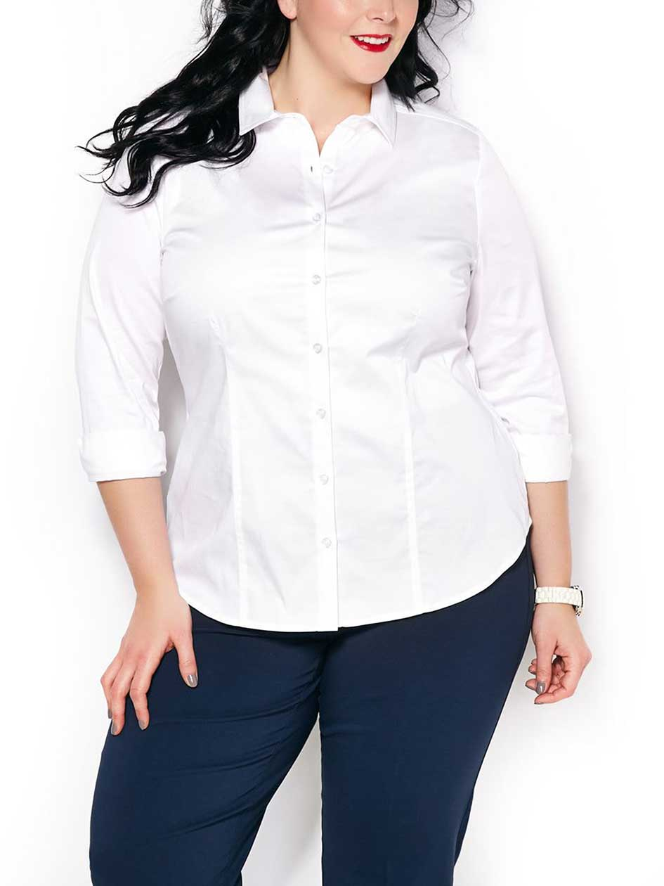 Long Sleeve Sateen Shirt