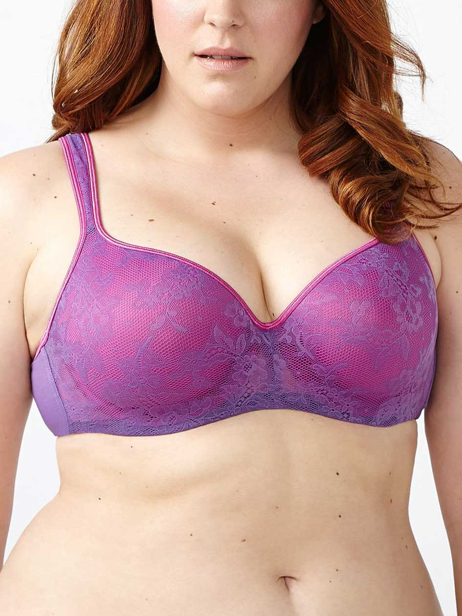 Ti Voglio Padded T-shirt Bra with Lace G & H