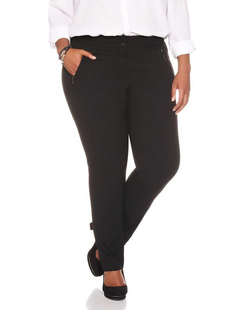Straight Fit Skinny Leg Pant