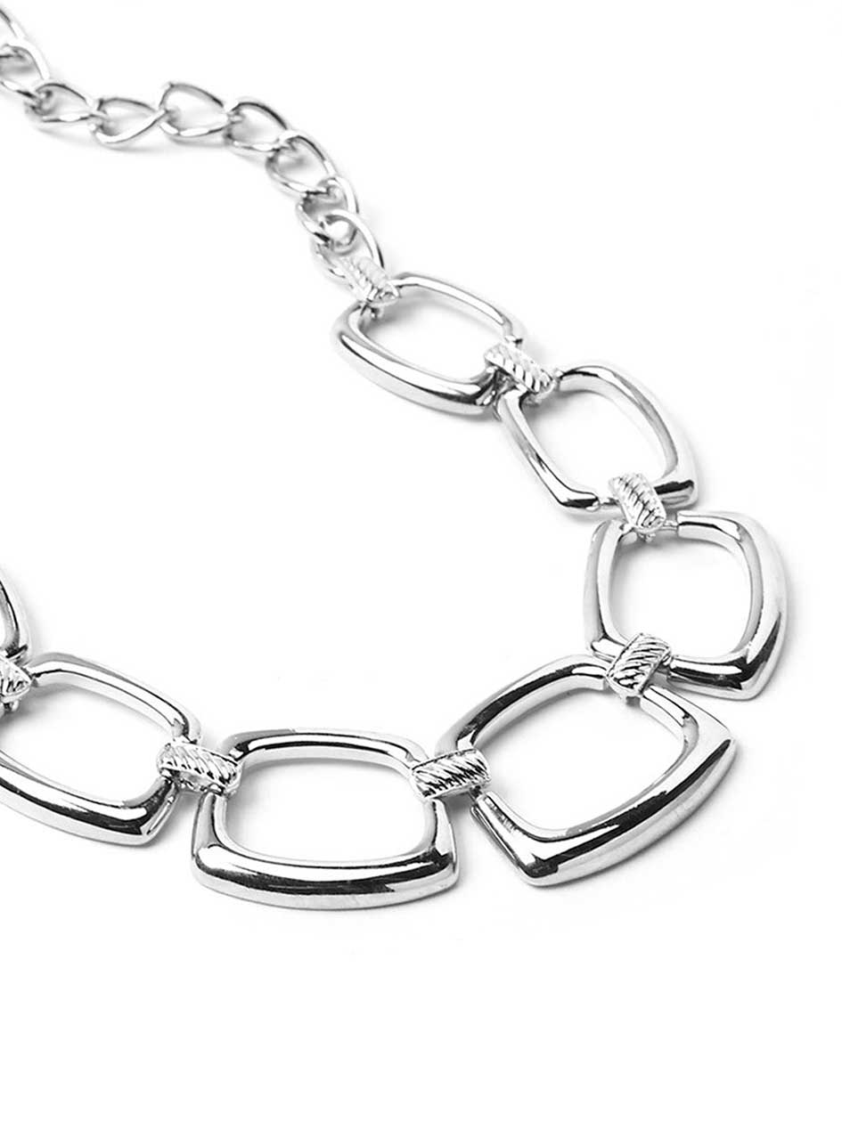 Short Chain Link Necklace
