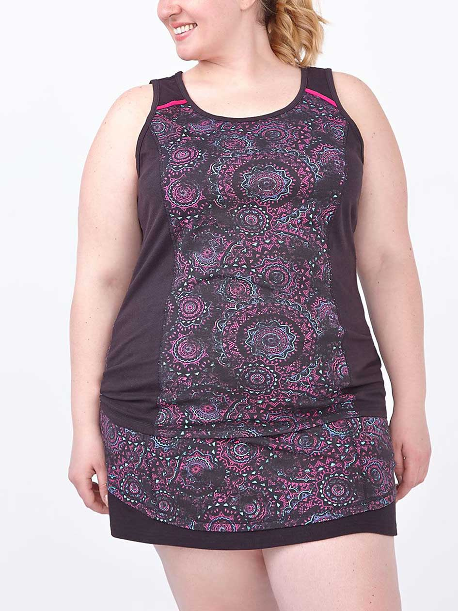 Essentials - Plus-Size Printed Tank Top