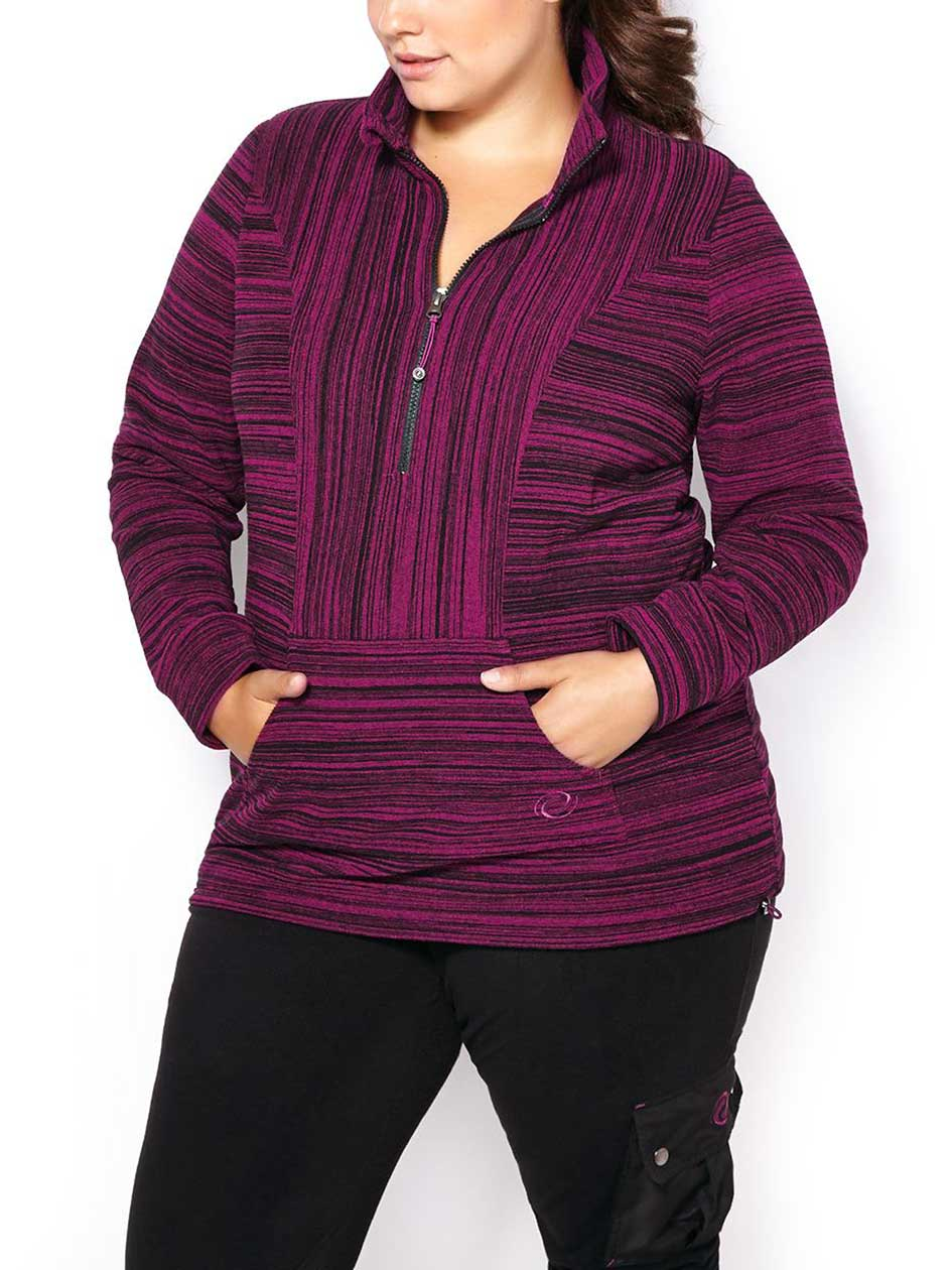 Sports - Plus-Size Popover Jacket