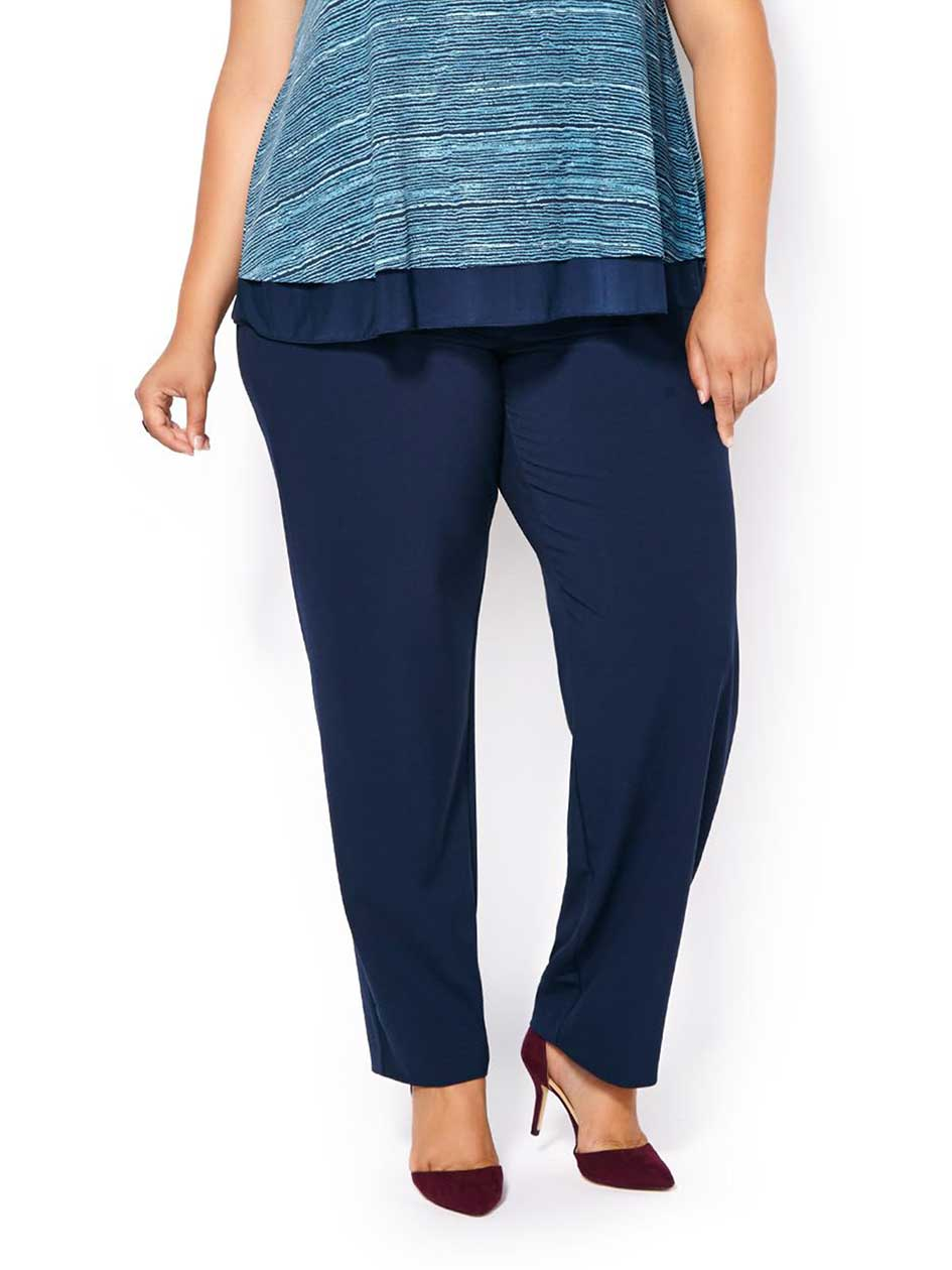 ONLINE ONLY - Tall Curvy Fit Straight Leg Pant