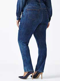 ONLINE ONLY - Tall Straight Fit Straight Leg Distressed Jean
