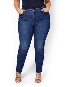 ONLINE ONLY - d/c JEANS Tall Curvy Fit Straight Leg Jean