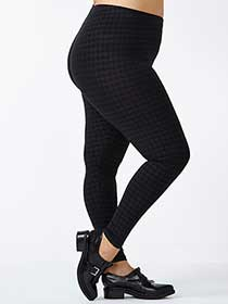 Patterned Legging