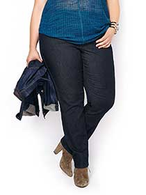 ONLINE ONLY - d/c JEANS Tall Savvy Straight Leg Jean