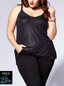 Tess Holliday - Cami with Chain Detail
