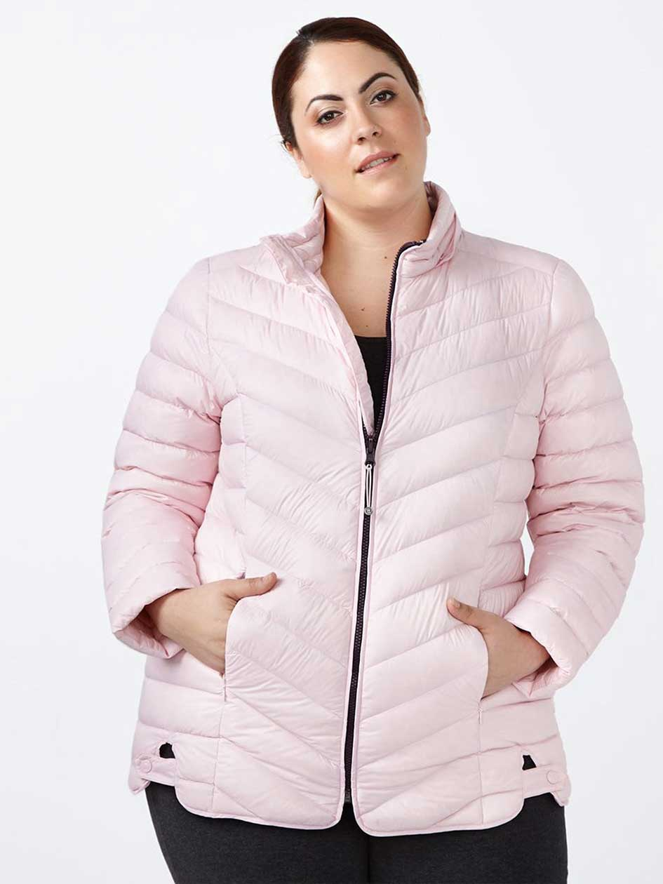 ActiveZone - Manteau taille plus compressible