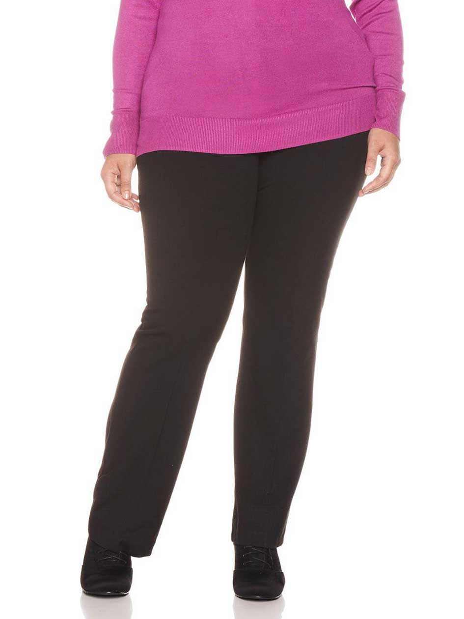 Slightly Curvy Fit Bootcut Leg Miracle Pant