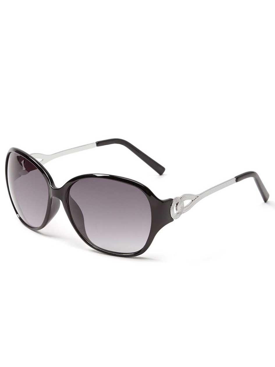 Black Sunglasses with Metal