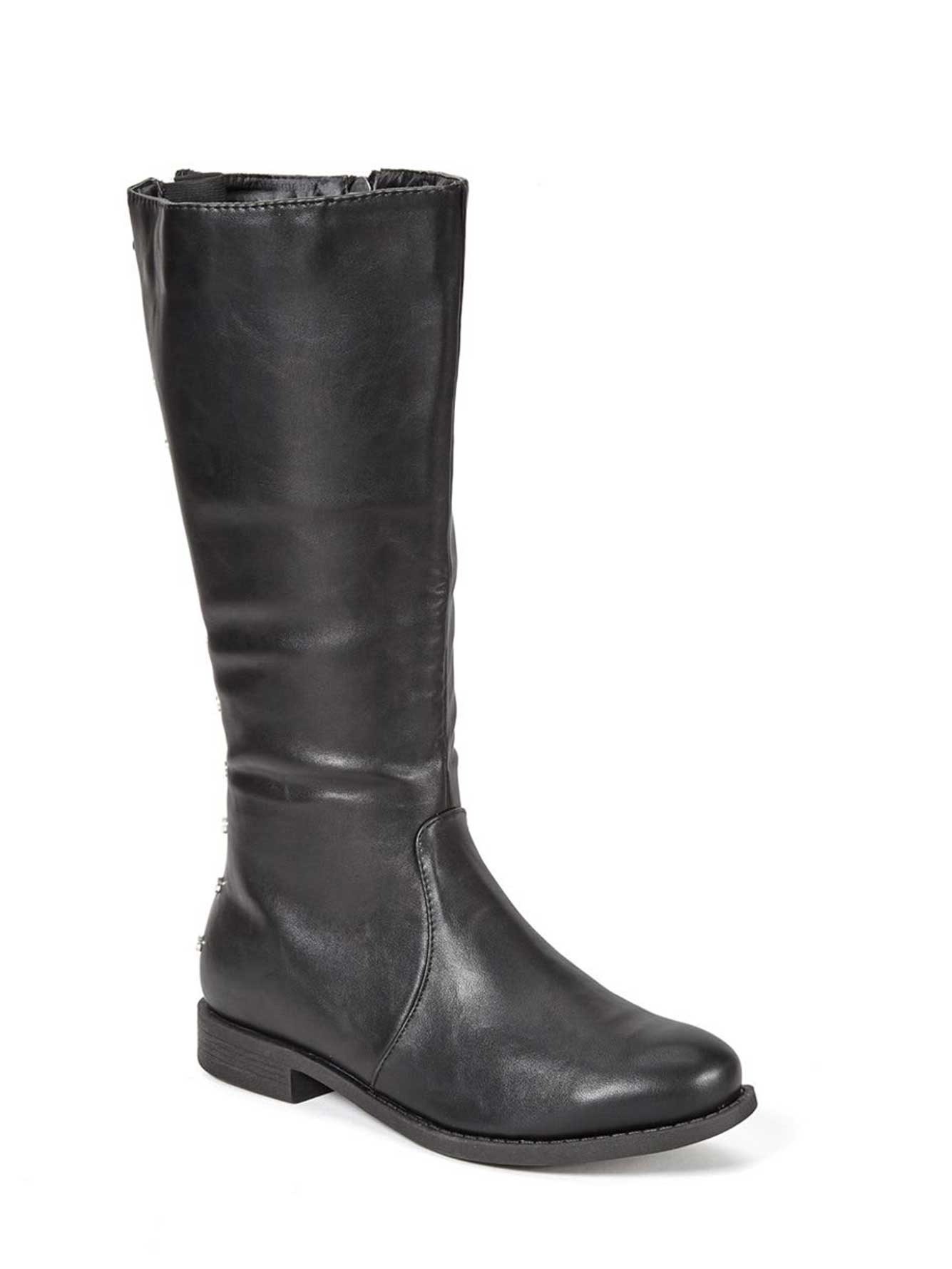wide width wide calf faux leather boots penningtons