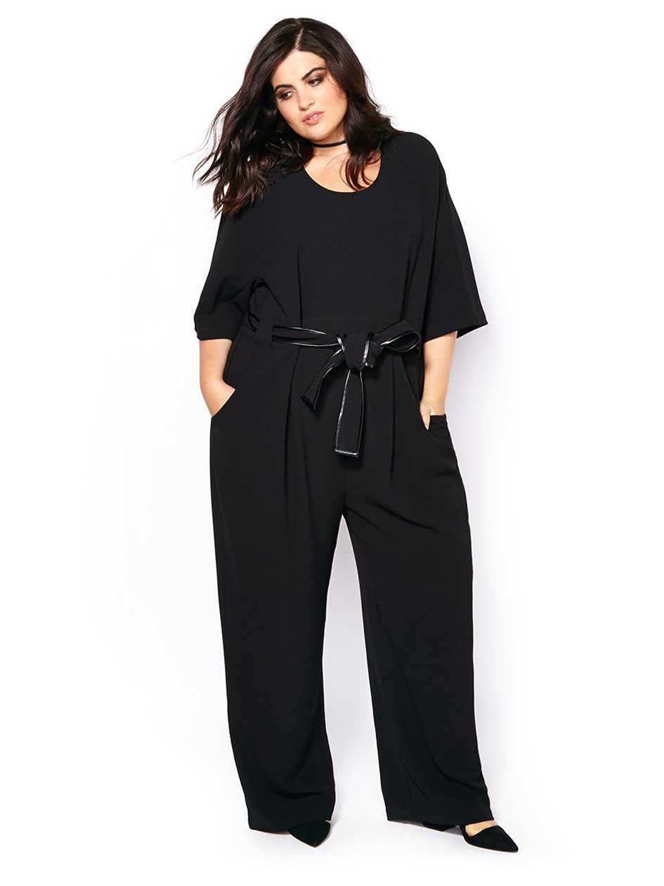 MELISSA McCARTHY Elbow Sleeve Jumpsuit