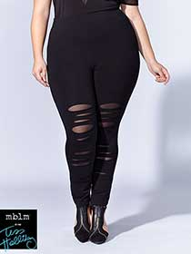 Tess Holliday - Legging with Rips