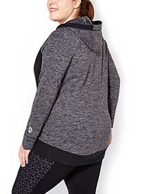 Essentials - Plus-Size Zip Up Hoodie