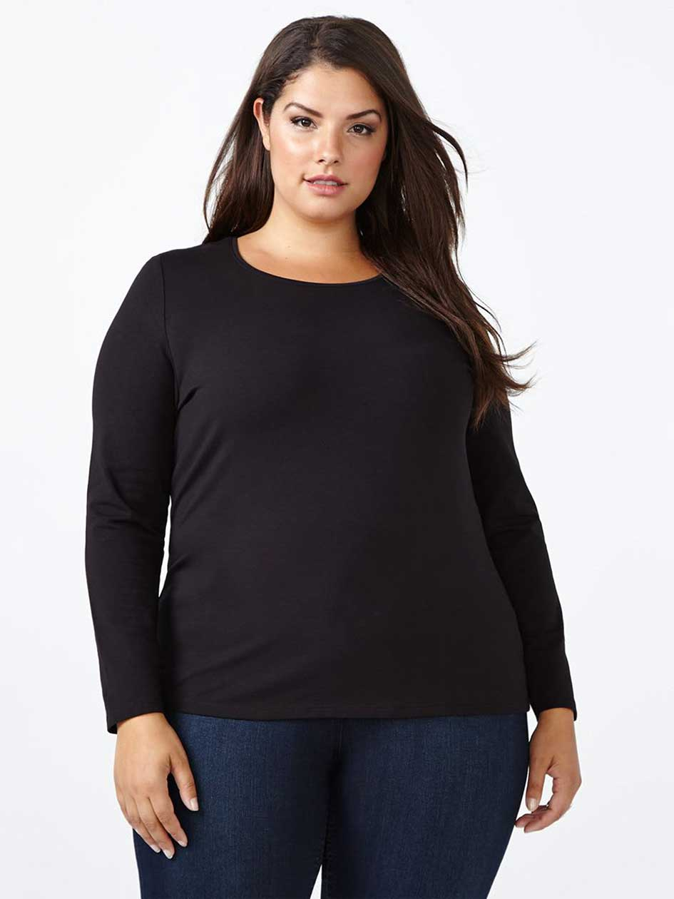 Layering Fit Long Sleeve T-Shirt