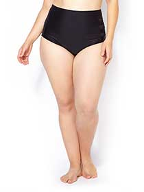 Sea - Wide Waist Swim Bottom with Mesh