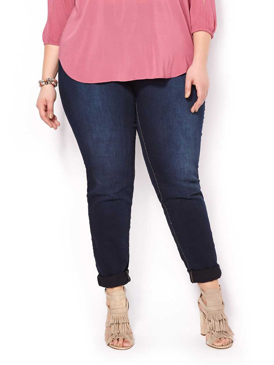 d/c JEANS Slightly Curvy Fit Skinny High Rise Jean
