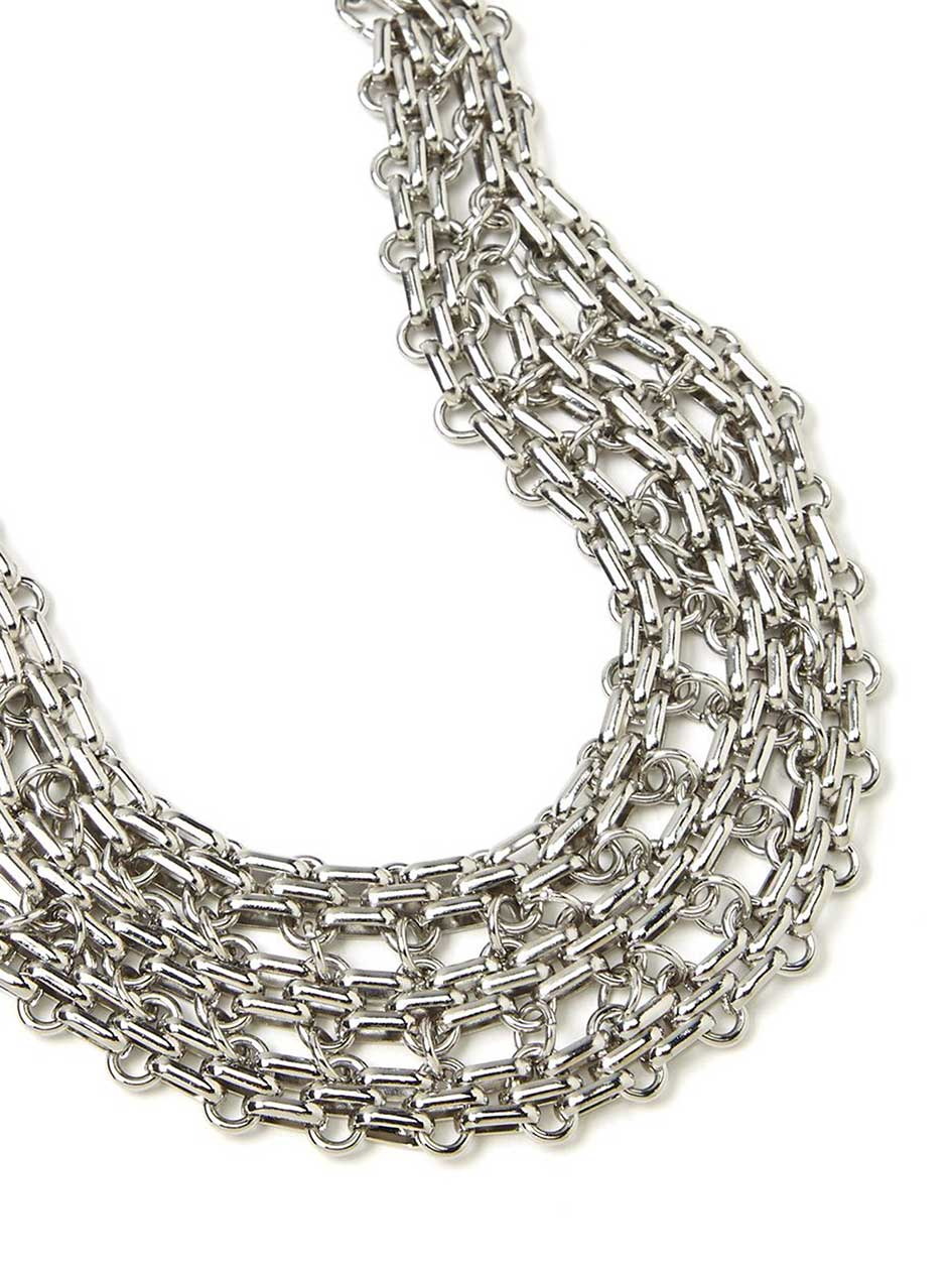 Multi-Row Statement Necklace