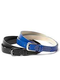 Set of 2 Studded Belts