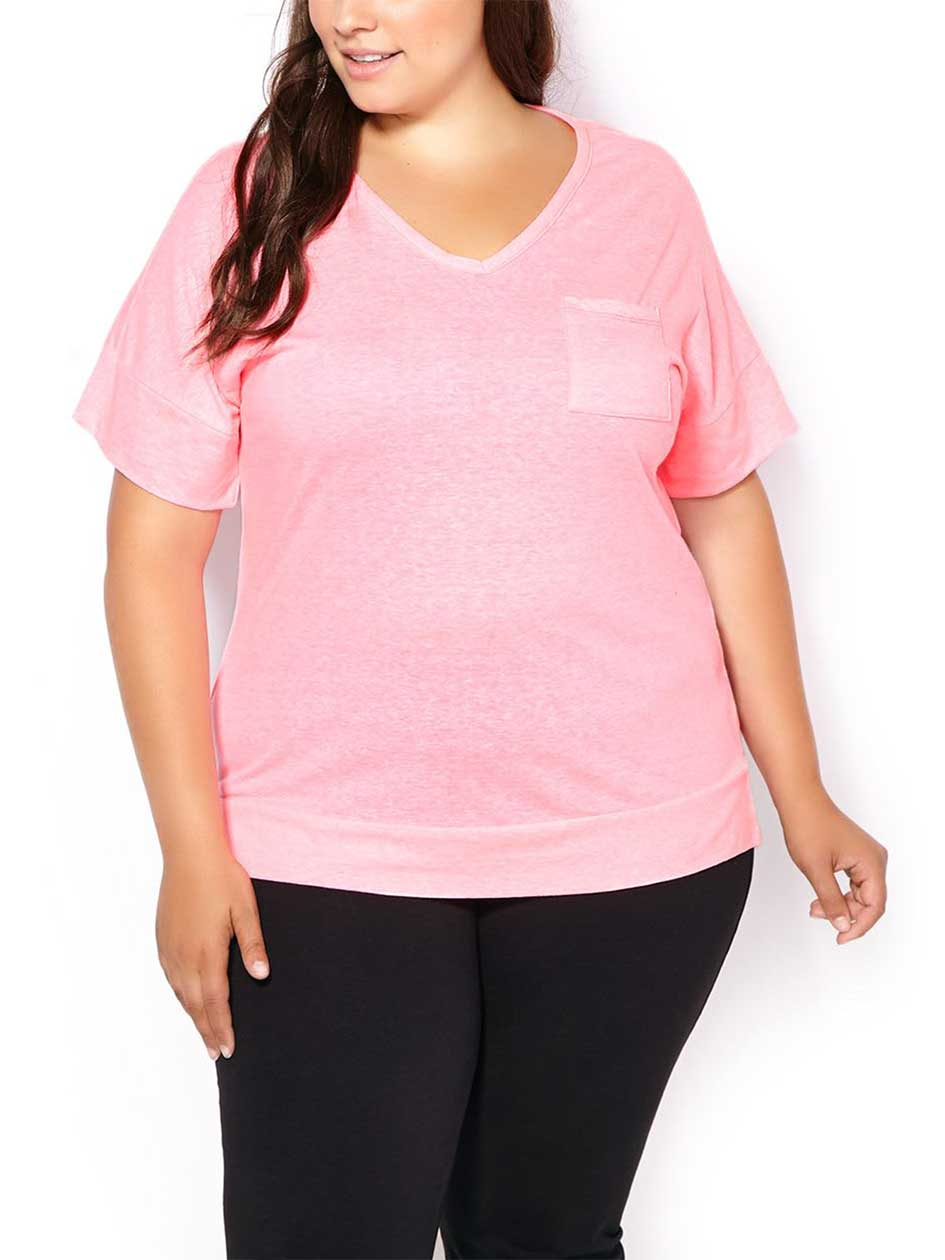 ActiveZone Weekend Collection Plus-Size T-Shirt