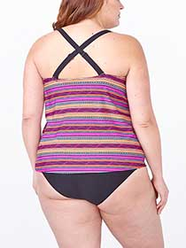 Sea - Printed Tankini Swim Top
