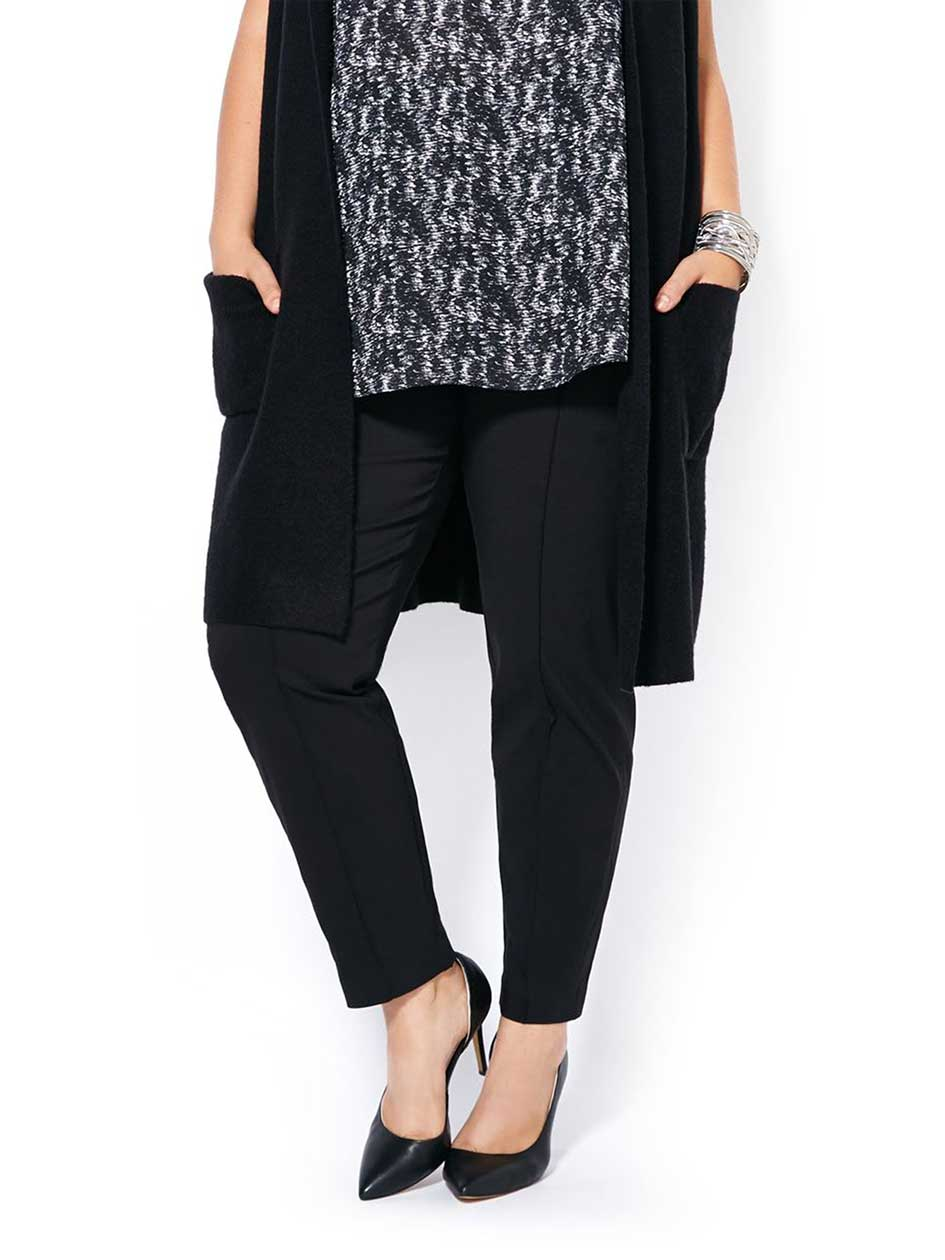 Slightly Curvy Fit Slim Ankle Pant