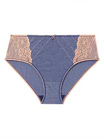 Ti Voglio Hipster Panty with Lace