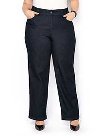 ONLINE ONLY - d/c JEANS Tall Curvy Fit Wide Leg Jean