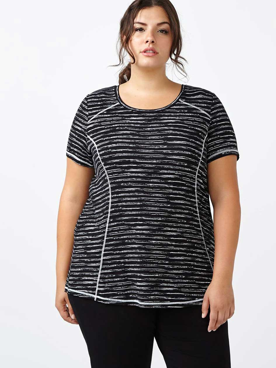 Essentials - T-shirt taille plus imprimé