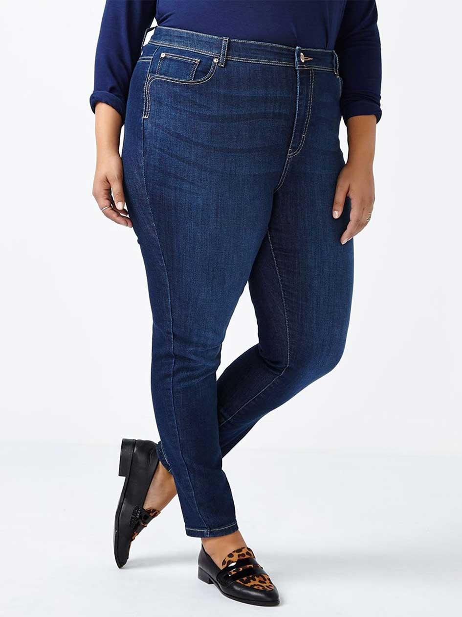 d/c JEANS Petite Curvy Fit Skinny Jean