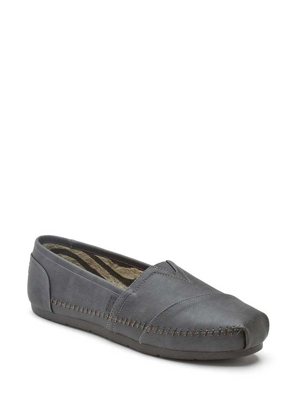 BOBS From Skechers - Wide Width Faux-Leather Espadrilles