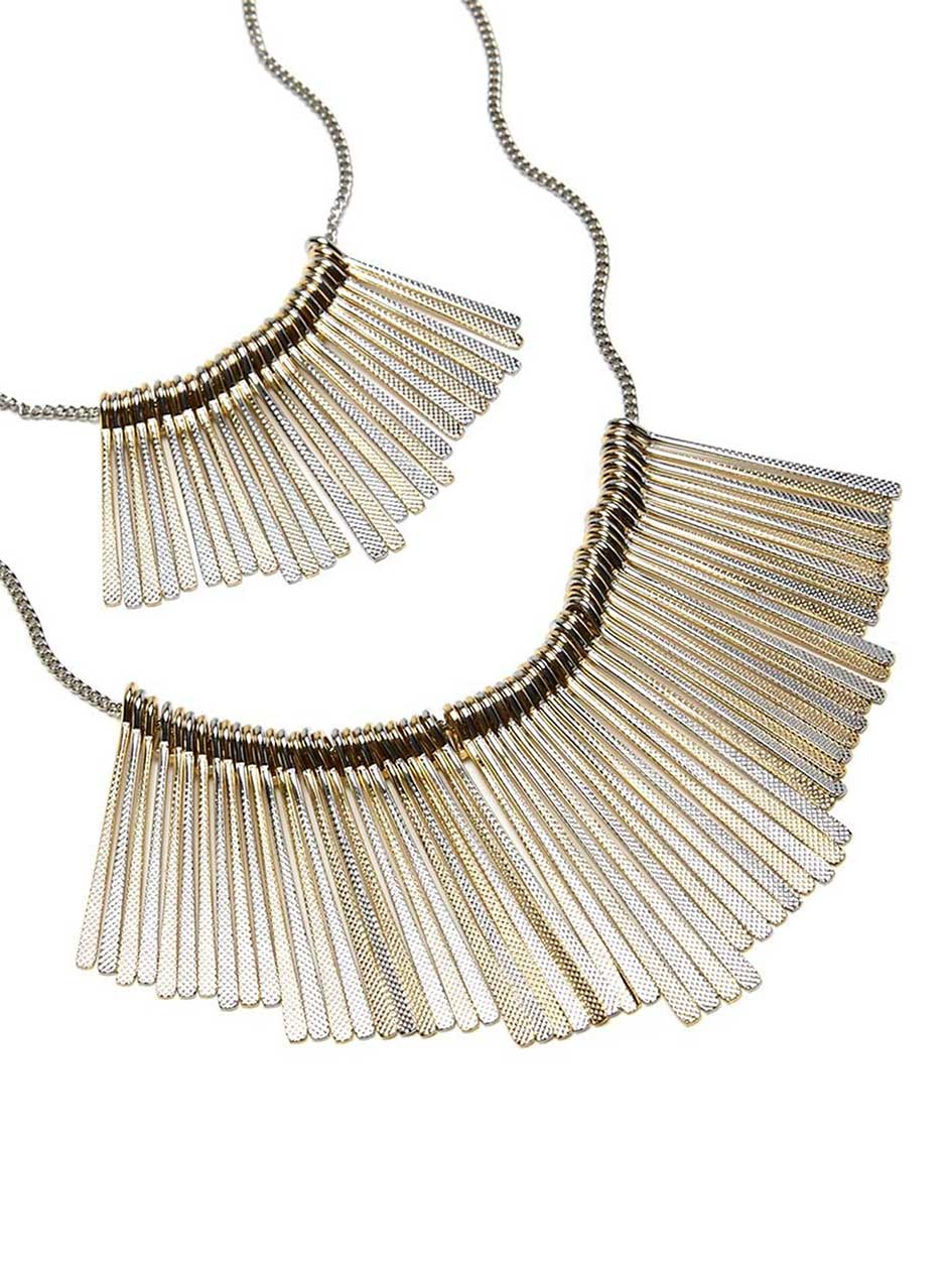 Long Dual-Chain Necklace