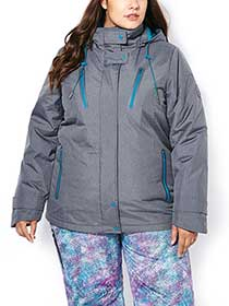 ActiveZone Plus-Size 3-in-1 Jacket
